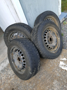 15 inch steel rims tires are not much good