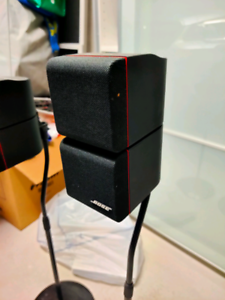 Bose cube speaker w/ stand