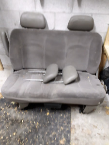 Second row seating off of a 2005 caravan