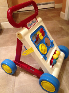 Fisher Price Fold and Go Walker - Vintage 1990