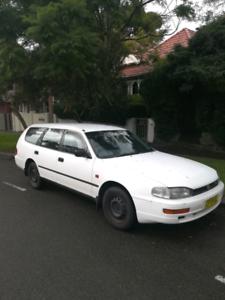 Toyota Camry 95 Csi Automatic White