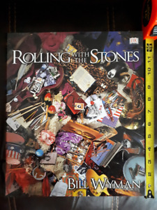Rolling With the Stones hardcover coffee table book Bill Wyman