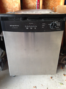 Used stainless steel Frigidaire dishwasher