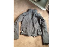 Superdry black jacket size small