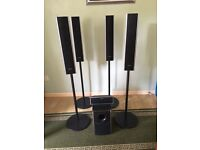 Four 4ft Sony Speakers for sale