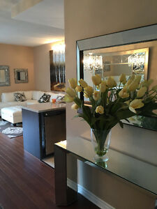 STUNNING 41/2  ( two bdms) WATERFRONT CONDO AVAILABLE! (Dec 1st)