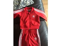 Baby adidas tracksuit's 0-3