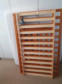 Baby cot and mattress