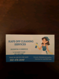 KAPS OFF CLEANING SERVICES