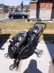 Very good condition...contours lt options double stroller