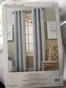 Cream colored curtains **brand new**