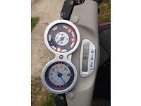 Piaggio 125 moped