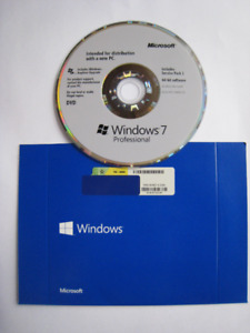 Windows 7Pro Operating system Disc 64 bit DVD