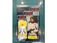 Star Wars Vintage AFA graded Luke Stormyrooper figure