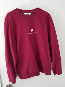 Undefeated Maroon Sweater (Small)