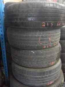 215/65-16 Goodyear Assurance Comfort Tread A/S Only $120/set