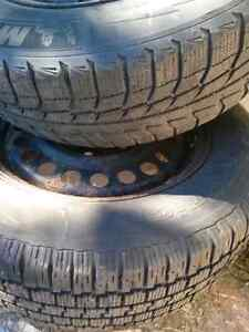 16' Winter Tires on Rims Kingston Kingston Area image 2