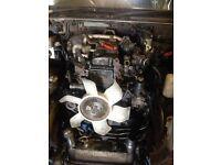 Mitsubishi shogun 3.2 DID auto engine