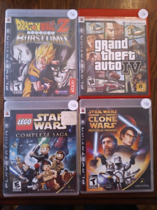 Playstation 3 games PS3 (Updated Sept 14, 2018)