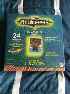Sealed Never Opened Animorphs Game