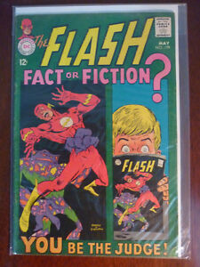 """2 Silver Age Comics """"The Flash #173 & 179"""""""