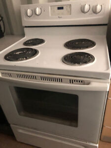 "30"" Whirlpool Electric Stove Perfect Condition $175.00"
