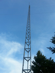 TV Antenna Tower 130 feet tall