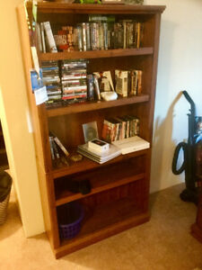 Large, wooden bookcase FS