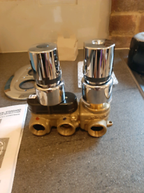 Ideal standard trevitherm built in shower mixer a3000