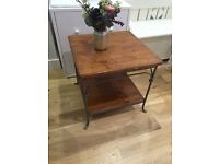 Solid wood table £35