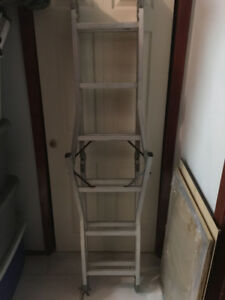 12 Feet Foldable Ladder for sale.