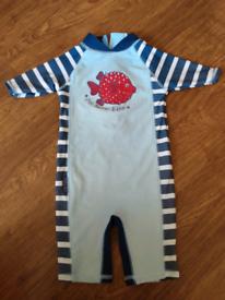 Jo Jo maman Bebe swimsuit 6-12 months