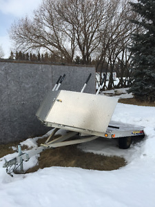 2 Place Newmans Sledbed Trailer