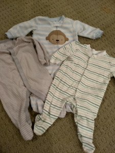 Lot 0-3 Month Sleepers