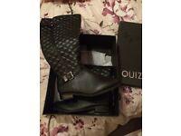 Quiz Knee High Boots