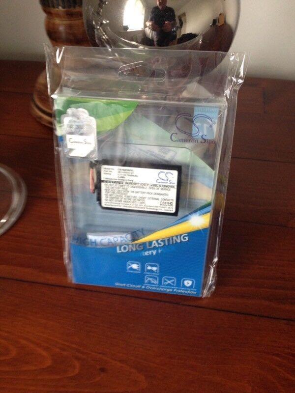 Battery for satnav etc
