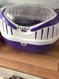 Pet carrier small for ferrets or alike