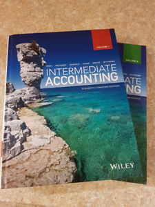 Intermediate Accounting, 11th Canadian Edition, Wiley, Vol 1 & 2