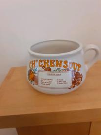 Vintage Chicken Soup Mug