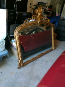 Gorgeous Huge Ornate Mirror 5.5' x 5'
