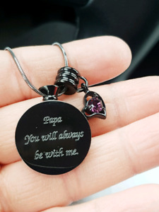 LOST NECKLACE containing ashes!