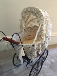 Victorian Style Doll Stroller