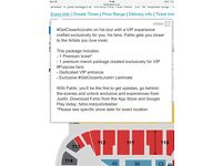 Justin Bieber vip tickets o2 arena 11th october