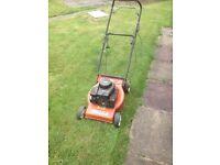 Moutfield laser lawnmower