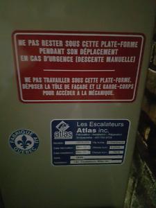 Ascenseur pour chaise roulante