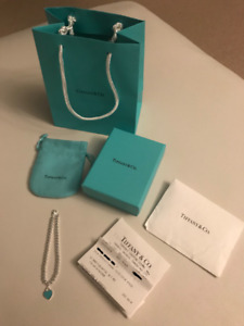NEW BRACELET FROM TIFFANY & CO. HEART BEADED - VALENTINES GIFT