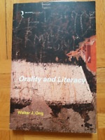 Orality and Literacy, English Literature textbook
