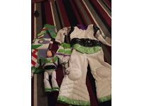 2-3 buzz costume and Buzz toy