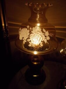 Beautiful Vintage Hurricane Lamp-delivery available for a fee