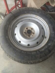 Subaru Outback winter tires and rims